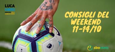 I pronostici consigliati per il weekend 11-14 ottobre