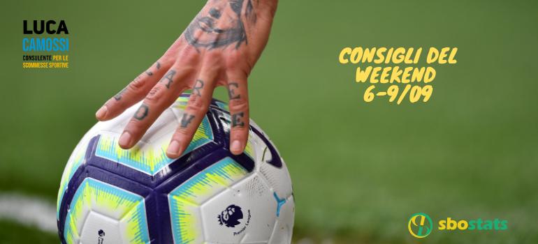 I consigli del weekend 6-9 settembre 2019