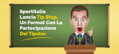 Sportitalia lancia Tip Stop, il format con la partecipazione dei tipster