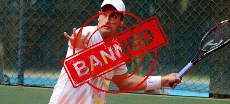 Squalifica a vita al tennista brasiliano Diego Matos